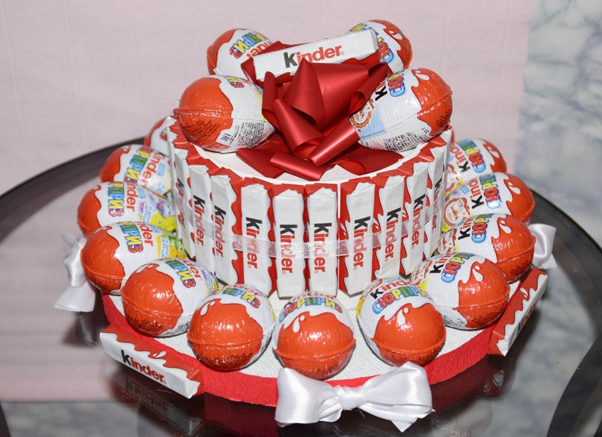 картинки с днем рождения торт из киндеров основное название ясенец