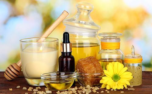 Мёд и масла для натуральных масок