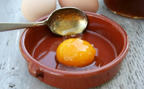 Желток с желатином