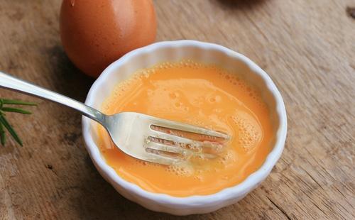 Взболтанные яйца